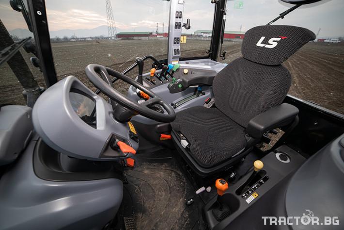 Трактори LS XP 101 *Нов*Климатик*Крийпър*40х40 скорости*IVECO двигател 101 HP* 5 - Трактор БГ
