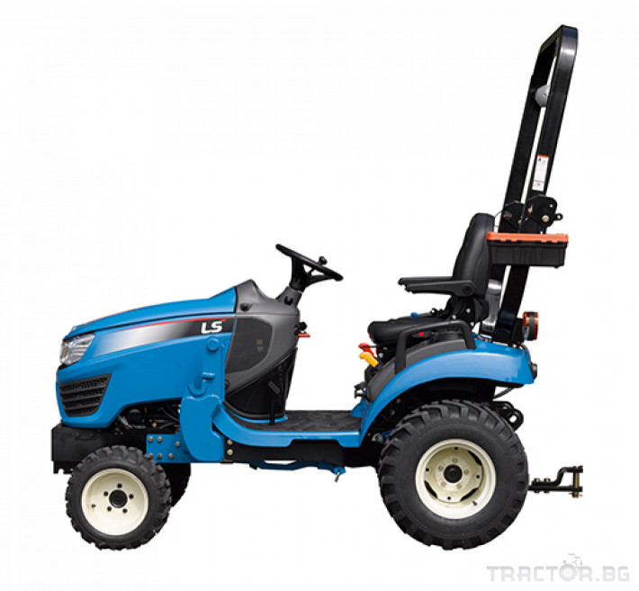 Трактори LS MT 1.25 *Нов*HST скорости *Yanmar двигател* 8 - Трактор БГ