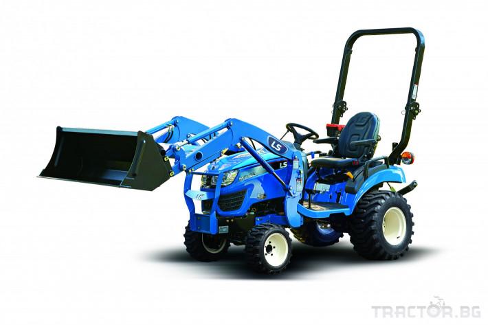 Трактори LS MT 1.25 *Нов*HST скорости *Yanmar двигател* 12 - Трактор БГ