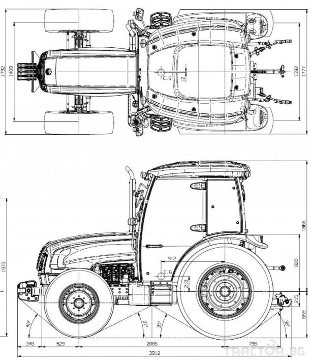 Трактори LS XU6168 *Нов*Климатик*Реверс*16х16 скорости*Mitsubishi двигател 68 HP* 1 - Трактор БГ