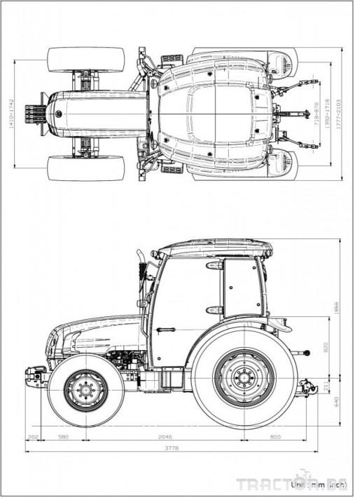 Трактори LS U60 *Нов*Климатик*Реверс*16х16 скорости*Mitsubishi двигател* 1 - Трактор БГ