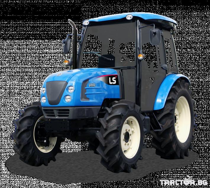 Трактори LS U60 *Нов*Климатик*Реверс*16х16 скорости*Mitsubishi двигател* 0 - Трактор БГ
