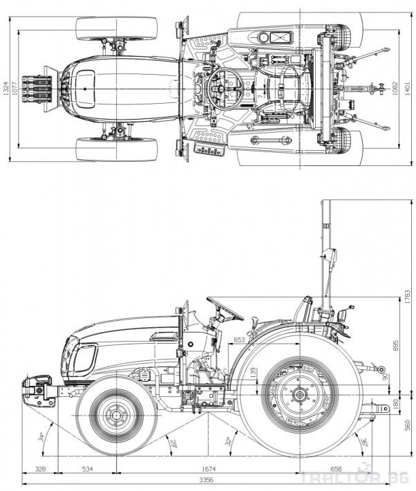Трактори LS R 36I *Нов*Реверс*12х12 скорости*Mitsubishi двигател 38 HP* 1 - Трактор БГ