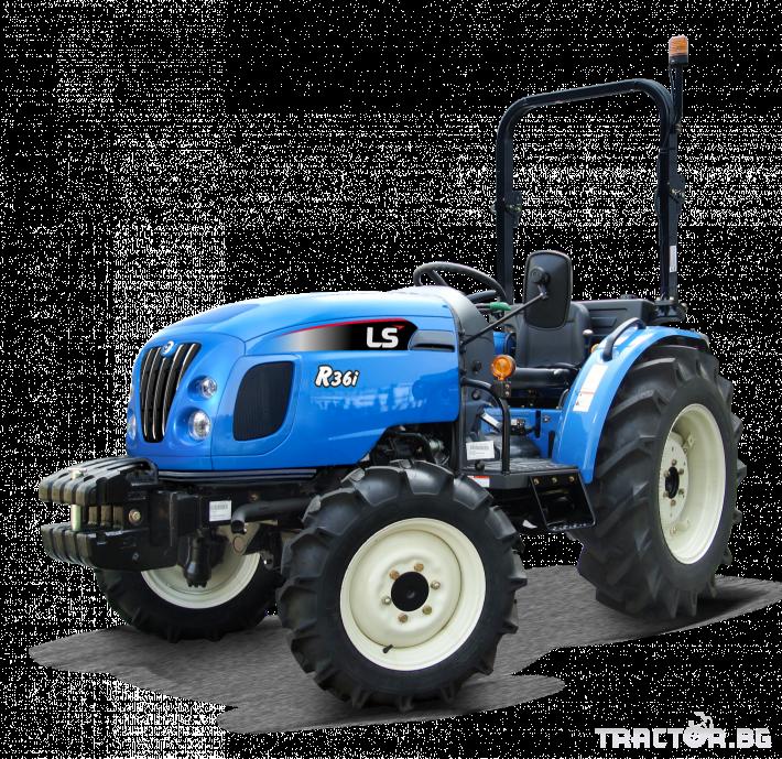 Трактори LS R 36I *Нов*Реверс*12х12 скорости*Mitsubishi двигател 38 HP* 0 - Трактор БГ