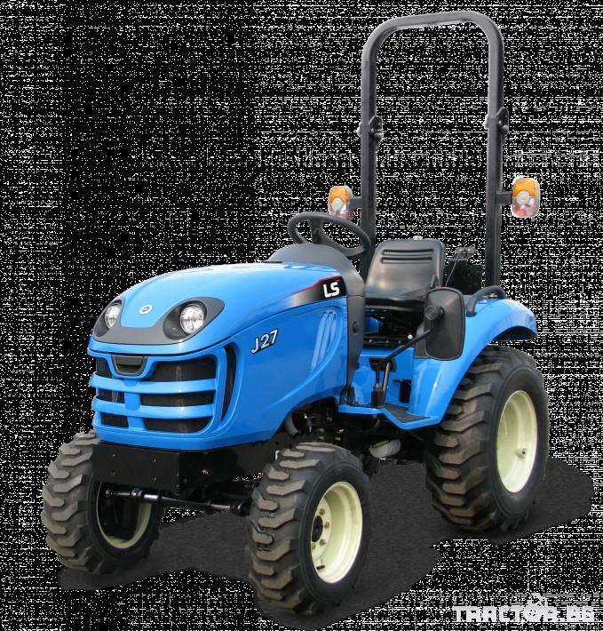 Трактори LS J 27 *Нов*Компактен трактор*Mitsubishi двигател* 0 - Трактор БГ
