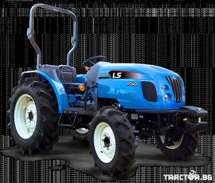 Трактори LS R 50 *Нов*Реверс*16х16 скорости*Mitsubishi двигател 50 HP* 0 - Трактор БГ