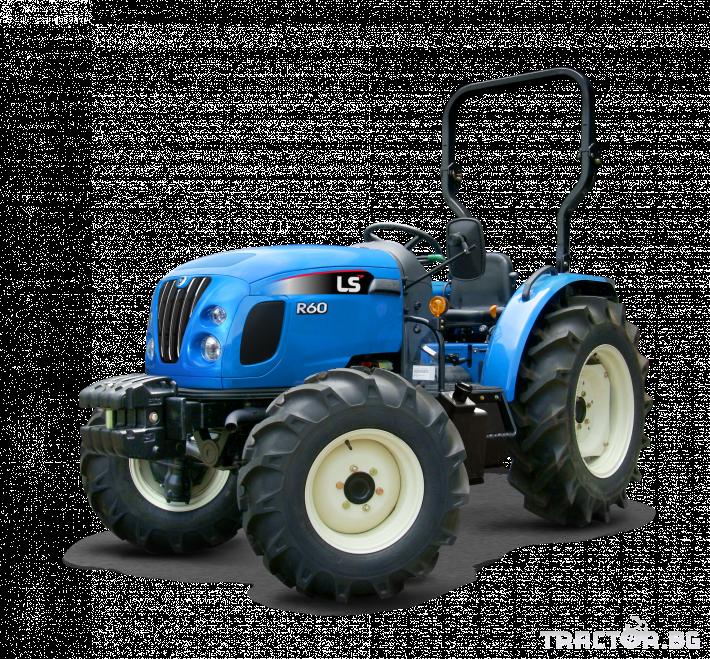 Трактори LS R 50 *Нов*Реверс*16х16 скорости*Mitsubishi двигател 50 HP* 17 - Трактор БГ