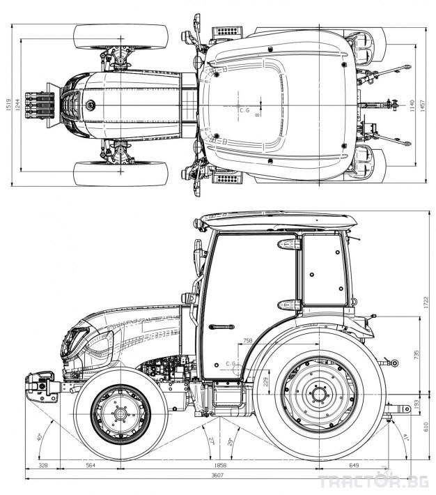 Трактори LS XR 50 *Нов*Климатик*Реверс*16х16 скорости*Mitsubishi двигател* 1 - Трактор БГ