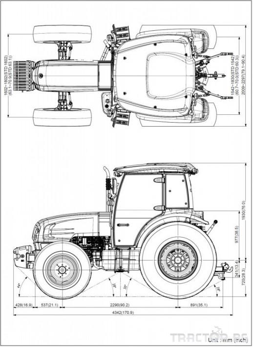 Трактори LS PLUS 100 *Нов*Климатик*Крийпър*40х40 скорости*IVECO двигател* 1 - Трактор БГ