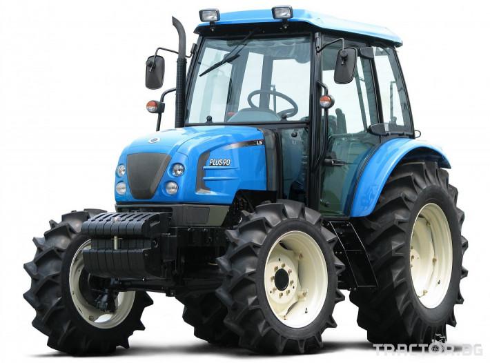 Трактори LS PLUS 100 *Нов*Климатик*Крийпър*40х40 скорости*IVECO двигател* 10 - Трактор БГ
