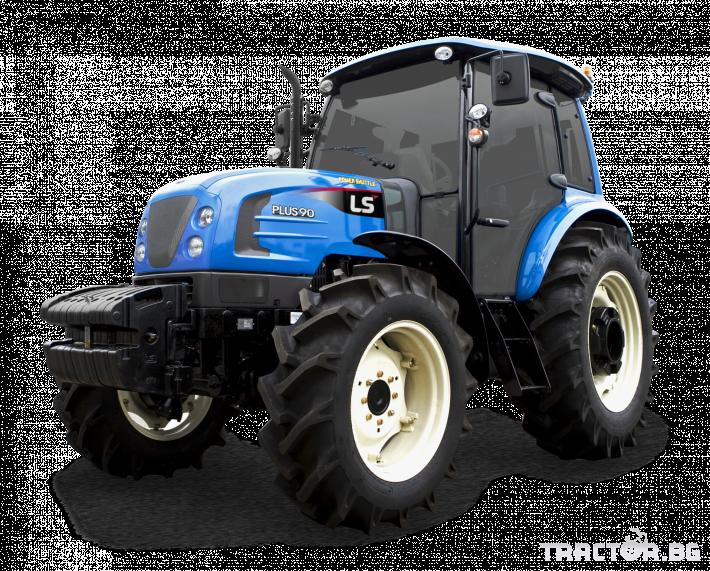 Трактори LS PLUS 100 *Нов*Климатик*Крийпър*40х40 скорости*IVECO двигател* 0 - Трактор БГ