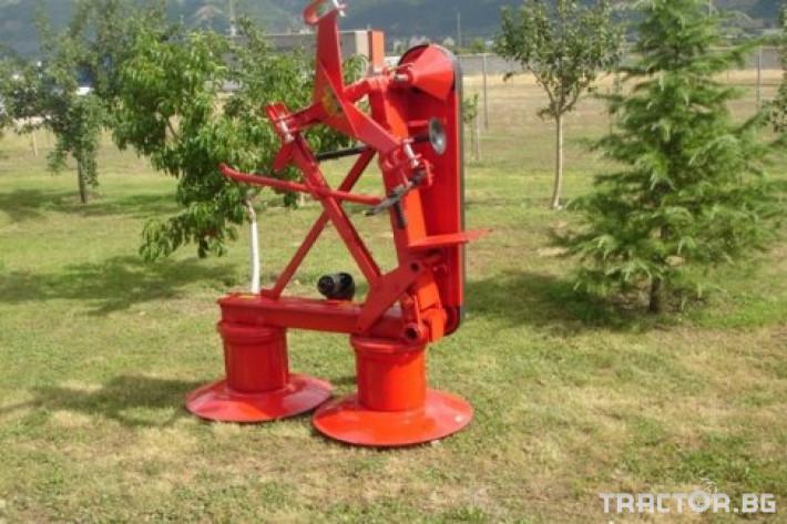 Косачки Косачки Дискови - 1.25 м. Олекотени 5 - Трактор БГ