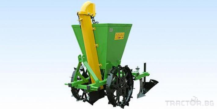 Машини за зеленчуци Картофосадач едно-редов ПОЛСКИ 0 - Трактор БГ