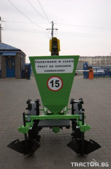 Машини за зеленчуци Картофосадач едно-редов ПОЛСКИ 6 - Трактор БГ