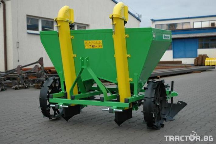 Машини за зеленчуци Картофосадач дву-редов с торовнасяне - ПОЛСКИ 4 - Трактор БГ