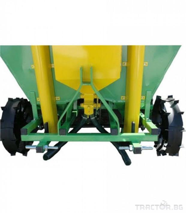 Машини за зеленчуци Картофосадач дву-редов с торовнасяне - ПОЛСКИ 9 - Трактор БГ