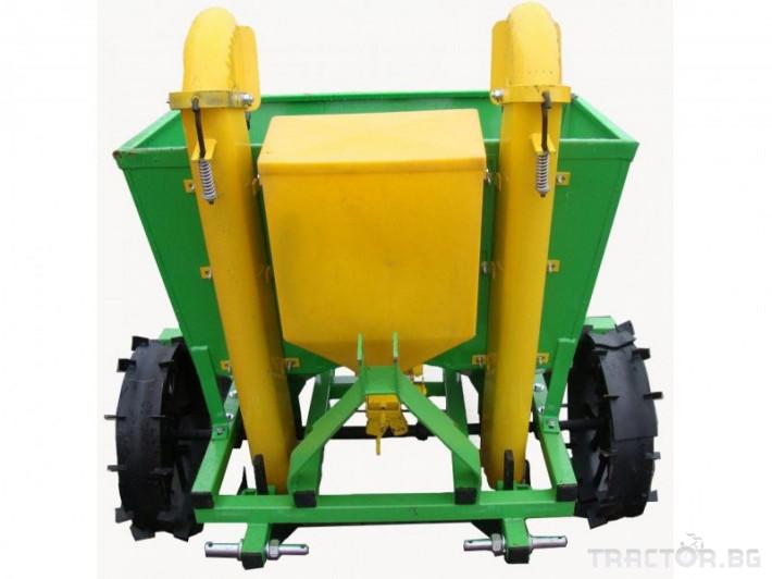 Машини за зеленчуци Картофосадач дву-редов с торовнасяне - ПОЛСКИ 0 - Трактор БГ