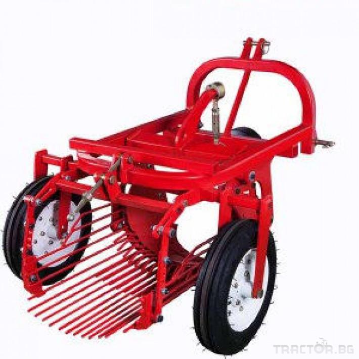 Машини за зеленчуци Картофовадач едно-редов вибрационен 0 - Трактор БГ