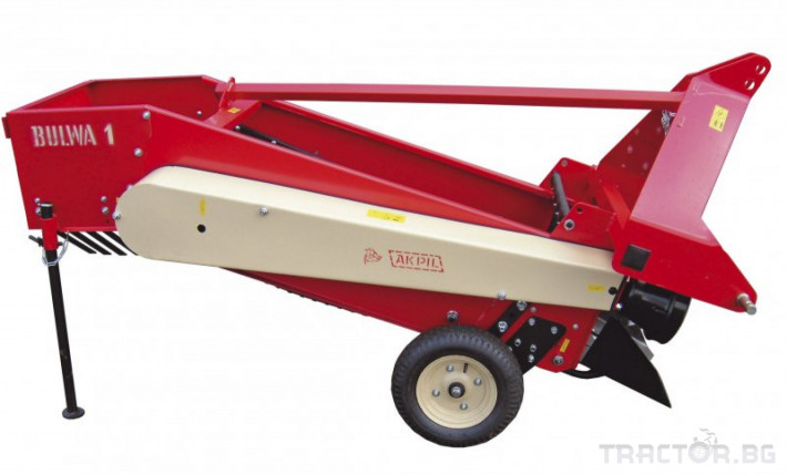 Машини за зеленчуци Картофовадач едно-редов лентов ПОЛСКИ 0 - Трактор БГ