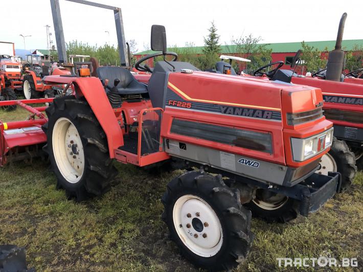 Трактори Yanmar FF225***Нов внос от Япония*** 3 - Трактор БГ