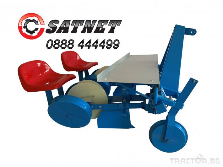 Машини за зеленчуци Разсадо-посадъчна машина дву-редова  - ПОЛСКА 0 - Трактор БГ