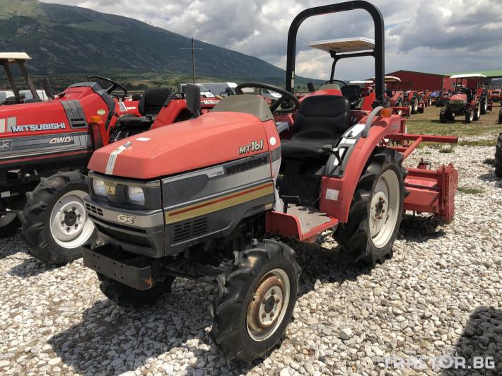 Трактори Mitsubishi MT161***Нов внос от Япония*** 0 - Трактор БГ