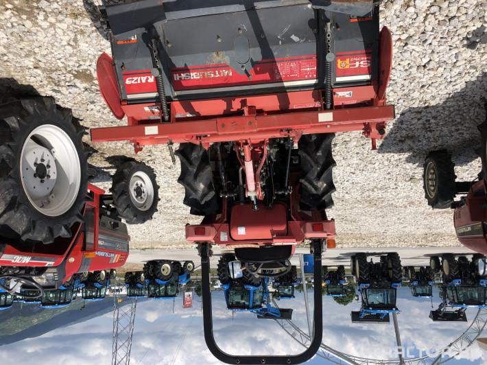 Трактори Mitsubishi MT161***Нов внос от Япония*** 6 - Трактор БГ