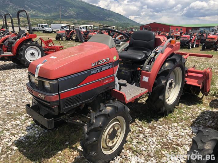 Трактори Mitsubishi MT200***Нов внос от Япония*** 0 - Трактор БГ