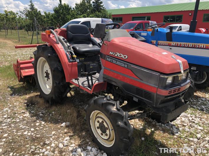 Трактори Mitsubishi MT200***Нов внос от Япония*** 2 - Трактор БГ