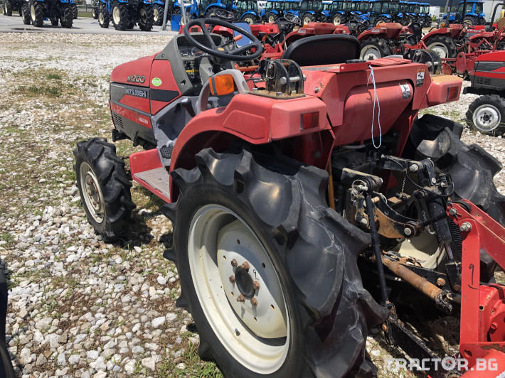 Трактори Mitsubishi MT200***Нов внос от Япония*** 7 - Трактор БГ