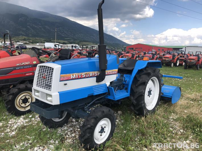 Трактори Mitsubishi MT2201D ***Нов внос от Япония*** 0 - Трактор БГ