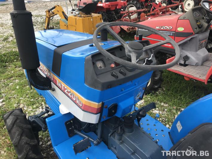 Трактори Mitsubishi MT2201D ***Нов внос от Япония*** 3 - Трактор БГ