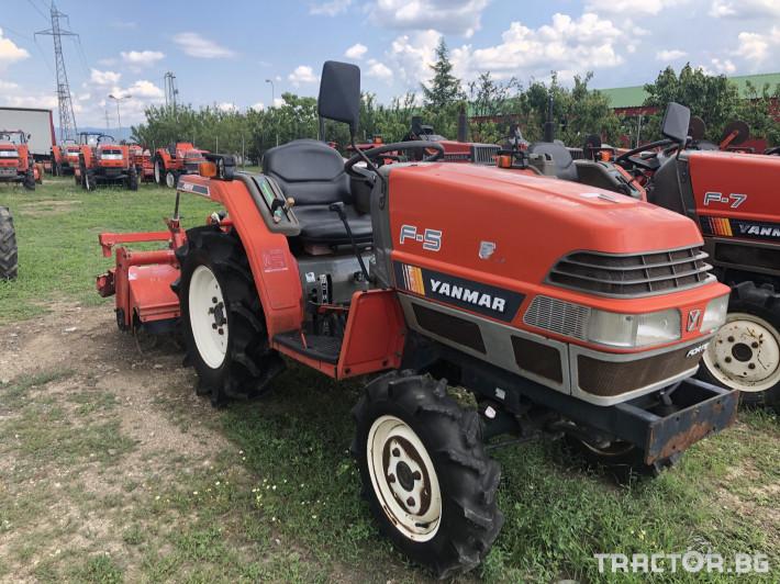 Трактори Yanmar F-5 ***Нов внос от Япония*** 0 - Трактор БГ