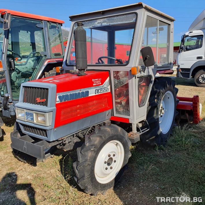 Трактори Yanmar FX22D***НОВ ВНОС ЯПОНИЯ*** 1 - Трактор БГ