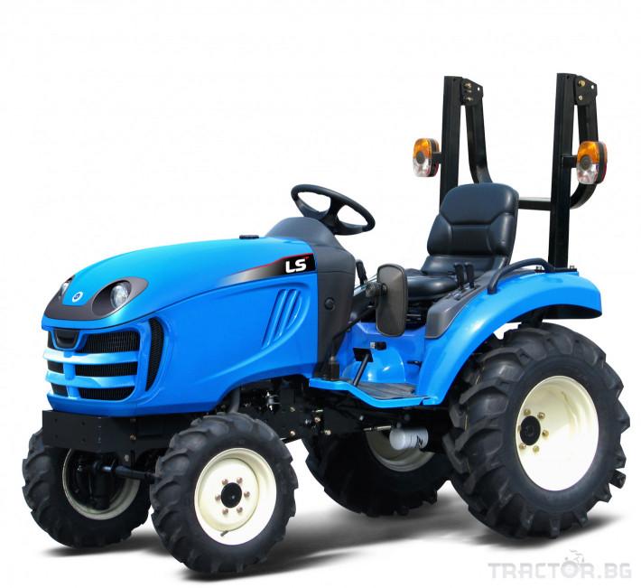 Трактори LS XJ 25  *Нов*Компактен трактор*Mitsubishi двигател* 1 - Трактор БГ