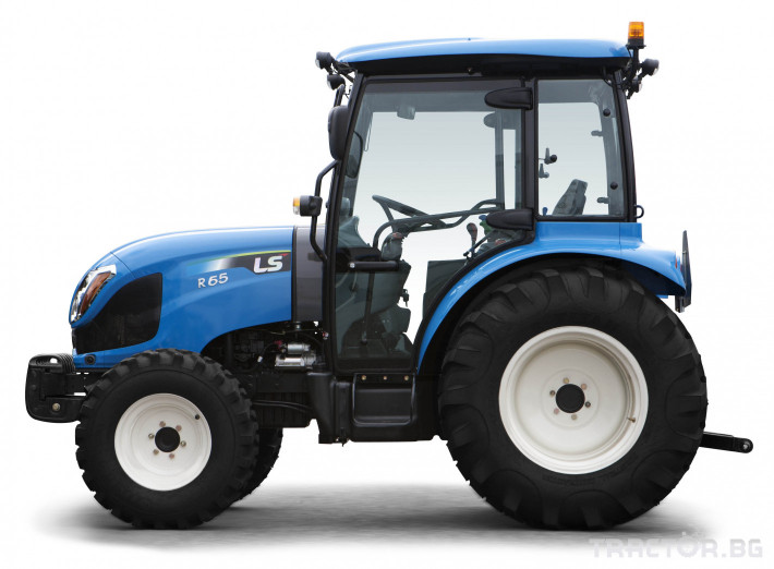 Трактори LS R 65  *Нов**Кабина**Климатик** Парно**Аудио**Mitsubishi двигател* 4 - Трактор БГ