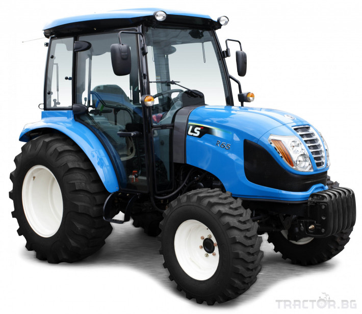 Трактори LS R 65  *Нов**Кабина**Климатик** Парно**Аудио**Mitsubishi двигател* 7 - Трактор БГ