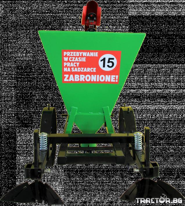 Машини за зеленчуци Картофосадач едно-редов ПОЛСКИ 1 - Трактор БГ
